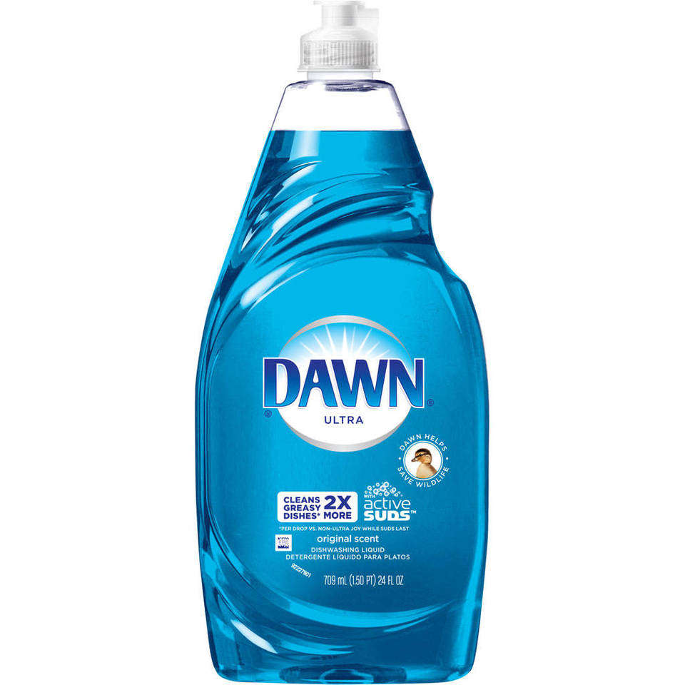 Does dawn dishwashing liquid kill fleas